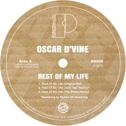 Oscar D'vine - Rest Of My Life
